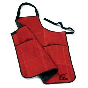 [롯지] 가죽 에이프런 앞치마 Red Leather Apron