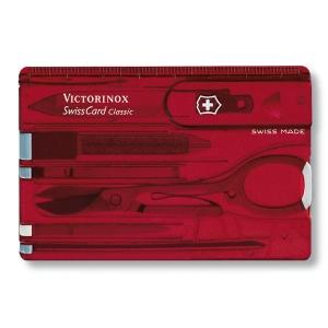 [빅토리녹스] 스위스카드 0.7100.T / 0.7122.T2 SwissCard 비지니스카드