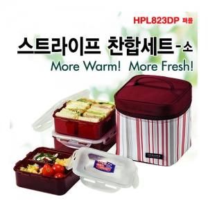 [락앤락] 스트라이프찬합세트(소) lunch box