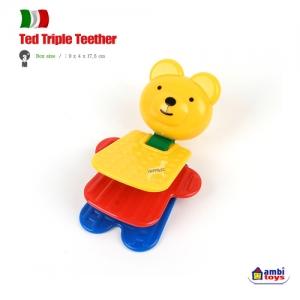 [앰비토이] 테드 트리플 티더 ted triple teether