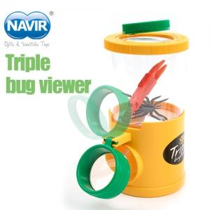 [나비르 NAVIR] 3중 곤충관찰경 (Triple bug viewes)