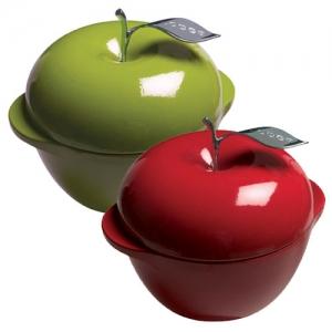 [롯지] 에나멜 애플 Enamel Apple green/red