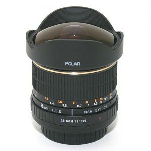 [삼양광학] POLAR 8mm F3.5 FISH-EYE LENS