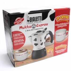 [비알레띠] 무카 카푸치노 1컵 (1인용) [얼룩무늬] Bialetti Mukka Cappuccino 커피메이커