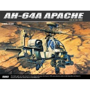 [ACADEMY] 프라모델 1/48 AH-64A 아파치