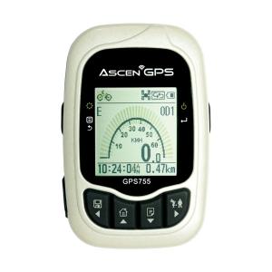 [아센 Ascen] 레저스포츠 로거 GPS755 속도계 / 위치찾기