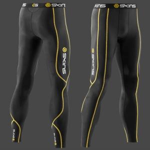 [스킨스] 골프 롱타이즈 BK/WH Sport Men's Compression Long Tights