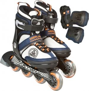 [K2] 머린 팩(보호대포함) 4단계 사이즈조절가능 Merlin Jr Pack Skate