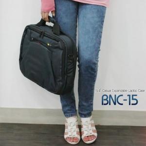 [케이스로직] 15인치 심플라운딩 메신져백[BNC-15_DN] 노트북가방