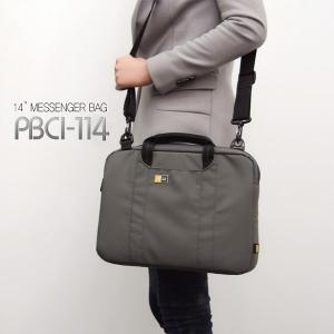 [케이스로직] 14인치 슬림라인 브리프케이스[PBCI-114_DG] 노트북가방
