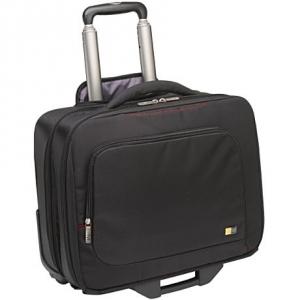 [케이스로직] 16인치 프로페셔널 비즈니스롤링백[TNR-216_BK] 노트북수납/여행용가방
