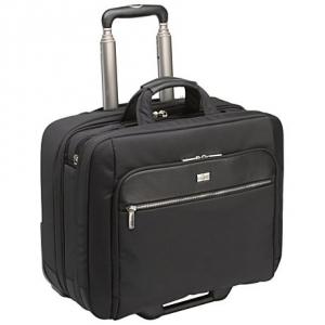 [케이스로직] 17인치 클래식 비즈니스 롤링백[CLRS-117_BK] 노트북수납/여행용가방