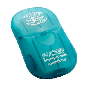 [씨투써미트] 포켓 샴푸&컨디셔너(종이 비누) Pocket Shampoo with Conditioner