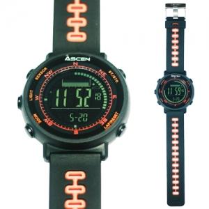 [아센 Ascen] 산악용 시계 MTW100 고도계 / 나침반 / 날씨