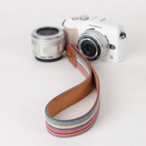 [아이코드] 카메라스트랩 퍼브릭30 리플스트라이프 워터그린 C110307