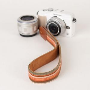 [아이코드] 카메라스트랩 퍼브릭30 리플스트라이프 오렌지 C110308