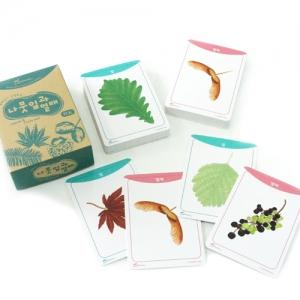 나뭇잎과 열매 카드