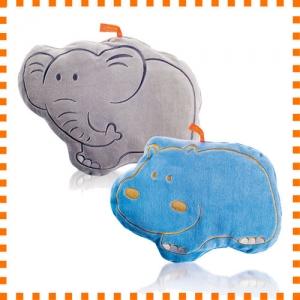 [파쉬 fashy] 핫팩 보온물주머니/쿠션형-0.8L 하마모양 코끼리모양 커버 물주머니