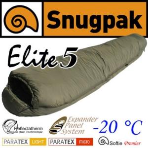 [스너그팩] Elite 5 스너그팩 엘리트 5 침낭