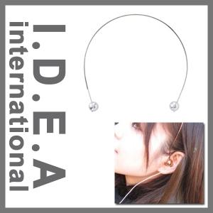 [엘레컴] LOE014-SY/PK/GD 이데아 머리띠 스타일 디자인 이어폰