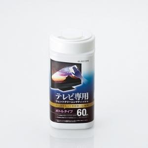 [엘레컴] AVD-TVWC60N TV화면 청소용 무알콜티슈 60매