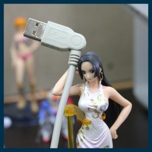 [엘레컴] USB2-S05/15/3 고품질 180도 회전 USB2.0 A-B 케이블 아이디어에디션