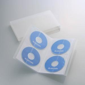 [엘레컴] CCD-F24CR/BU/BK 책꽂이형 CD/DVD 24장들이 케이스