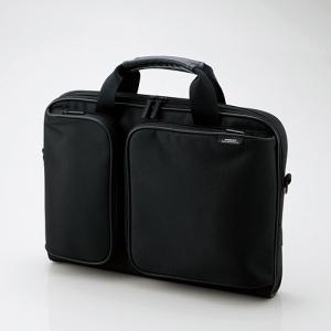[엘레컴] ZSB-BM006NBK 13형 제로쇼크 슬림 노트북가방
