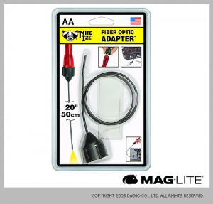 """[나잇아이즈] Mini 2-AA용 20""""(50cm) 광섬유 아답터 Fiber Optic Adapter"""