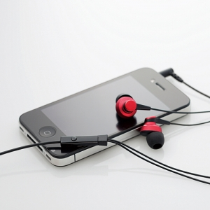 [엘레컴] EHP-IPIN500BK/PU/RD/SV 스마트폰에서 전화통화가 되는 고음질 이어폰