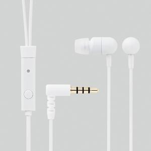 [엘레컴] EHP-IPAN130BK/PNS/PNV/WH 스마트폰에서 전화통화가 되는 프티데코 이어폰