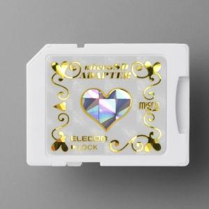 [엘레컴] MF-ADSD002HGD/PN microSD카드 변환 SD어댑터 러브디자인 한정판