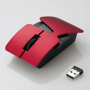 [엘레컴] M-NE3DLBK/RD/SV/WH 넨도 카사네 무선 마우스 디자인에디션