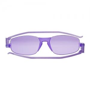 [난니니] Solemio KISS 컴팩트 선글라스-Icy Violet