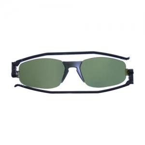 [난니니] Solemio2 Classic 컴팩트 선글라스-Black/Dark Green