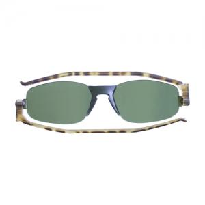 [난니니] Solemio2 Classic 컴팩트 선글라스-Tortoise/Dark Green