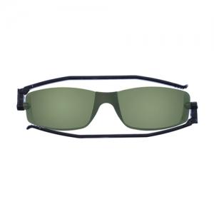 [난니니] Solemio3A Classic 컴팩트 선글라스-Black/Dark Green