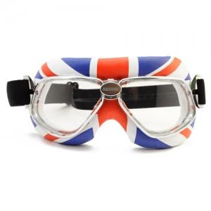 [난니니] 모터사이클 스페셜 고글/크루저 England Flag Snowboard용 고글