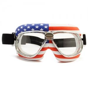 [난니니] 모터사이클 스페셜 고글/크루저 USA Flag Snowboard용 고글