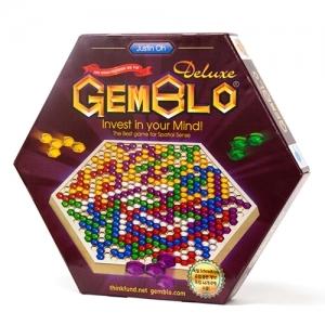 [젬블로코리아] 젬블로 디럭스 Gemblo Deluxe (1인용 퍼즐게임북 포함/한글설명서)