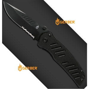 [거버] 나이프 스웨거(S) [31-000594] Swagger, Drop Point, Serrated