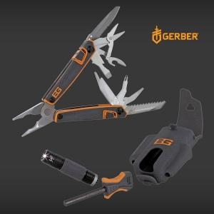 [거버] 멀티툴 베어그릴스 서바이벌 툴 팩 [31-001047] Bear Grylls Survival Tool Pack 파이어스타터 랜턴