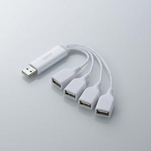 [엘레컴] U2H-TM400BBK/WH 네발낙지 디자인 2세대 USB허브 For 노트북
