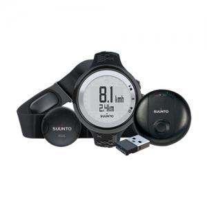 [순토] M5 GPS Pack Black/Silver 트레이닝용 여성용 Versatile guidance for multi-sport exercise