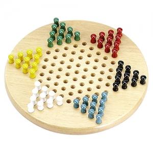 [EZ2ETC] Chinese Checkers 다이아몬드게임 스탠다드 (원목) 보드게임