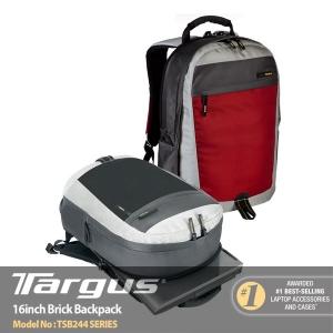 """[타거스] 16인치 노트북백팩 TSB244AP 16"""" Brick Backpack"""