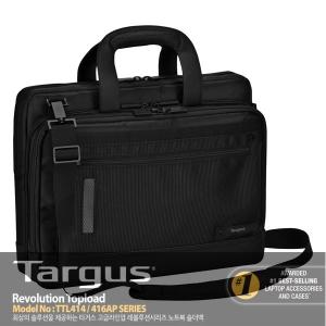 """[타거스] 14인치 노트북가방 TTL414AP 14"""" Revolution Checkpoint-Friendly Topload Case"""