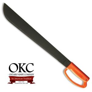 [온타리오] Ontario OKC Field Orange D Handle Model 8516 Machete 정글도 마세티
