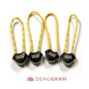 [제로그램] Glow Zipper Pull / 야광 지퍼 손잡이 (4set)