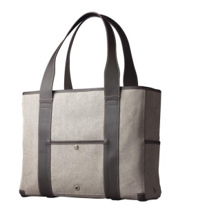 "[애크미메이드] The Metro Tote 15.4"" - Natural Canvas"
